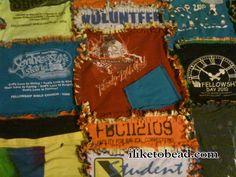 t-shirt rag quilt  :)