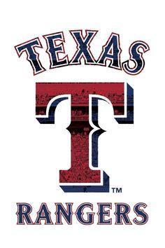 Rangers Tx Rangers, Rangers Baseball, Baseball Art, Baseball Shirts, Baseball Teams, Baseball Season, Softball, Sports Decals, Sports Logos