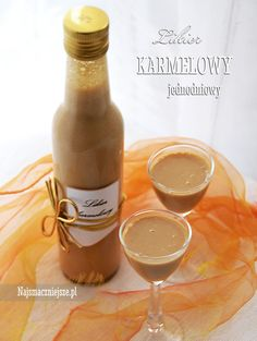 Likier karmelowy jednodniowy Witches Cauldron, Irish Cream, Baileys, Hot Sauce Bottles, Whiskey, Food And Drink, Cooking Recipes, Homemade, Drinks