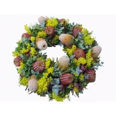 Image result for native anzac wreath