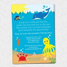 free under the sea birthday party printables mysunwillshine