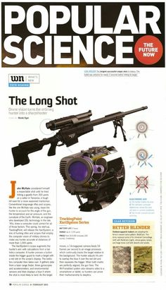 TrackingPoint System article in Popular Science Magazine