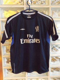 CHELSEA FC 2001 02 Soccer Jersey Football Shirt Trikot Camiseta Maillot  Training  Umbro   f2ded45b58ae4