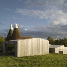 Old Bearhurst: Location: Old Bearhurst, United Kingdom Year of Construction: 2012 Architects: Duggan Morris Architects  An angled slatted wood facade intervenes into an existing vernacular.