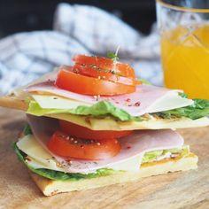 Kikertlefsene du kommer til å bli avhengig av Lchf, Keto, Tortilla Pizza, Frisk, Nom Nom, Sandwiches, Food And Drink, Low Carb, Healthy Recipes