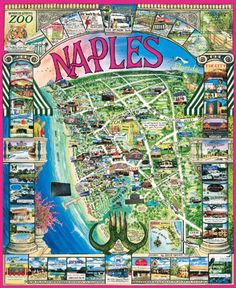 naples florida map of hotels