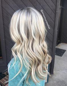Blonde hair loose waves ~sighs~