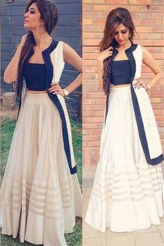 Youdesign Raw Silk Fusion Wear In Off White Colour Size Upto 66 Shrug For Dresses, Indian Gowns Dresses, Trendy Dresses, Fashion Dresses, Long Gown Dress, Lehnga Dress, Indian Wedding Outfits, Indian Outfits, Indian Designer Outfits