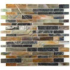 "Sheet size: 12"" x 12""     Tile Size: Random Bricks     Tiles per sheet: 68…"