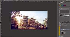 Architectural Post Production tutorial - Inserting Peoples in Photoshop