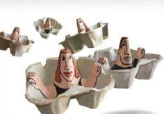 EggCarton People