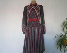 Filz Kleidung Nuno-Filz-Kleid braun und Türkis von DianaNagorna