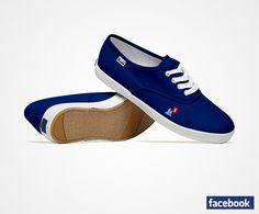 Facebook sneakers!