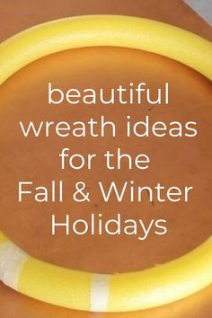 Cheap and Easy wreath for front door for the winter holidays, spring, Easter and more. Creative dollar store wreath ideas. Fall wreath tutorial for front door. #wreath #diy #frontdoor Fall Wreath Tutorial, Diy Fall Wreath, Wreath Ideas, Dried Orange Slices, Dried Oranges, Apple Wreath, Pumpkin Wreath, Frame Wreath, Door Wreath
