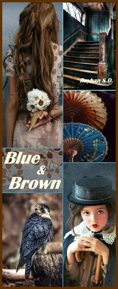'' Blue & Brown '' by Reyhan S.D.