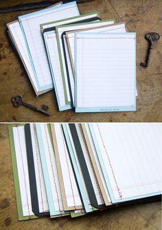 sewn card set