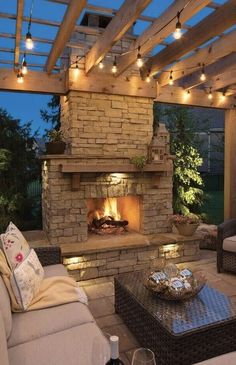 Backyard Patio Pergola Fireplaces Best Ideas This picture has 5 repetitions . Backyard Patio Pergola Fireplaces Best Ideas This picture has 5 repetitions. Outdoor Fireplace Designs, Backyard Fireplace, Fireplace Outdoor, Fireplace Hearth, Fireplace Ideas, Backyard Patio Designs, Pergola Patio, Patio Ideas, Pergola Kits