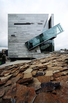 learn here • perot museum of nature and science, dallas, texas • morphosis architects • photo: iwan baan