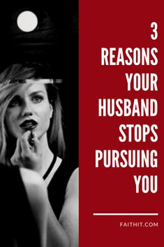 I used to feel like my husband isn't attracted to me anymore. And now I learned there might be several different reasons why he stopped pursuing me. Here are 3 reasons to consider. #relationships #marriage #maritalissues #husbandandwife #intimacy #marriagecouseling #marriagetips #marriageadvice