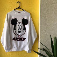 bd714d18d49 Listed on Depop by starterovergucci. Cute Oversized SweatersVintage Mickey  MouseMen ...