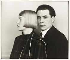August Sander, 'The Architect Hans Heinz Luttgen and his Wife Dora' 1926, printed 1990