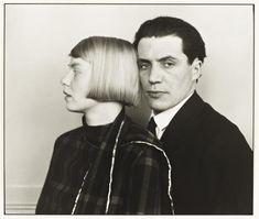 August Sander 'The Architect Hans Heinz Luttgen and his Wife Dora', 1926, printed 1990 © Die Photographische Sammlung/SK Stiftung Kultur - August Sander Archiv, Cologne; DACS, London, 2016.