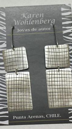 Aros de plata texturados en laminadora AR0253
