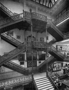 "Old Frear Dept Store ""Grand Staircase"""