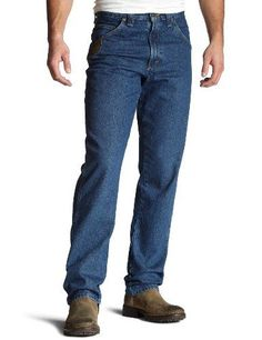 8315d15ad62 New Wrangler RIGGS WORKWEAR Men s Big Tall Relaxed-Fit Jean Mens Fashion  Clothing. Mens