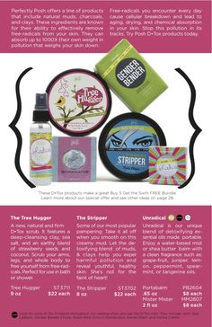 An awesome Detox bundle! Check out all the products on my site... http://www.perfectlyposh.us/5634/