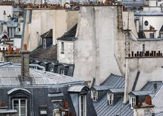 Michael Wolf - Paris Rooftops 12 - Edition of 9