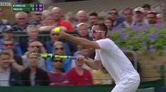 VIDEO: Viktor Troicki's amazing Wimbledon meltdown