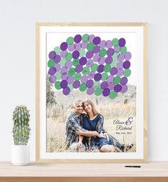 Wedding Photo guest book alternative wedding print by MDBWeddings