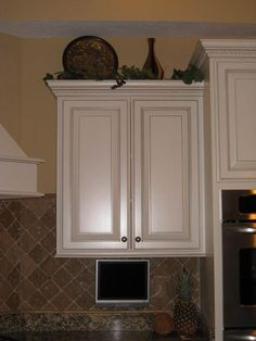 kitchen cabinet decor counter height table sets 69 best top decorating images of whats on your cabinets home design forum gardenweb