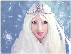 Snow Princess by madam-marla on DeviantArt