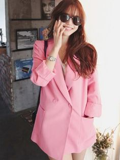 Blazer Ancha con Estilo de Korea Blazer, Jackets, Outfits, Women, Fashion, Girly, Elegant, Wedding, Style