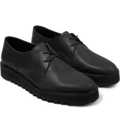 Surface to Air Charcoal Carbon Derby Shoes
