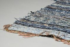 Luxury denim brand turns old jeans into new rugs
