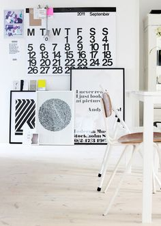 Scandinavian design Ideas for that blank wall you don't know how to fill.