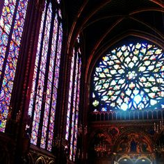 This is kind of one of those off the beaten path sites (although I'm not sure why).  It's tucked away near the Conciergerie on Isle de la Cite in Paris.  It shouldn't be missed if for no other reason than to see the King's personal worship hall and it's beautiful stained glass windows.