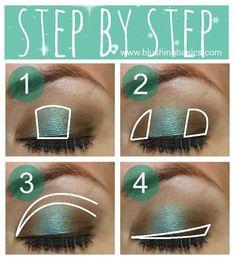 Emerald Green Look Makeup Tutorial