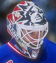 Mike Richter's Liberty Mask - New York Rangers