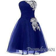 2016 new design short prom dresses by promdress01, free custom made for color and size
