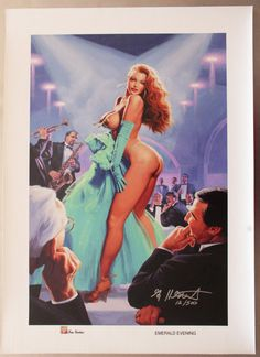 Escape Night Club Pinup Hildebrandt Vintage Metal Sign Autograph /& Free Print