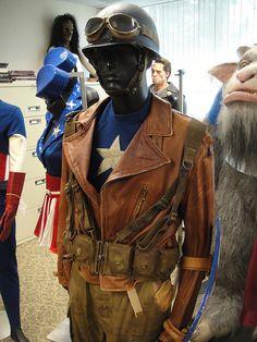 Captain America jacket Prop