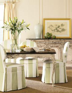 furniture-meubles:  Henredon Furniture. Serene Dining.