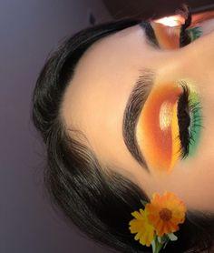 Gorgeous Makeup: Tips and Tricks With Eye Makeup and Eyeshadow – Makeup Design Ideas Glam Makeup, Makeup On Fleek, Skin Makeup, Makeup Inspo, Makeup Art, Makeup Inspiration, Beauty Makeup, Bold Eye Makeup, Dramatic Makeup