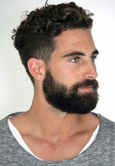 JustLifeStyle shared a photo from Flipboard Men Haircut Curly Hair, Wavy Hair Men, Fade Haircut, Cool Haircuts, Haircuts For Men, Hair And Beard Styles, Curly Hair Styles, Faded Hair, Slicked Back Hair