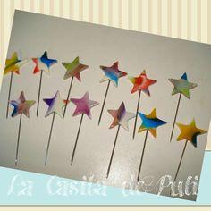 Estrellas psicodélicas.  La casita de Puli