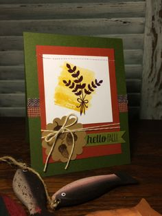 For All Things - Project featuring some of the new products from the 2014 Stampin Up Holiday Catalog